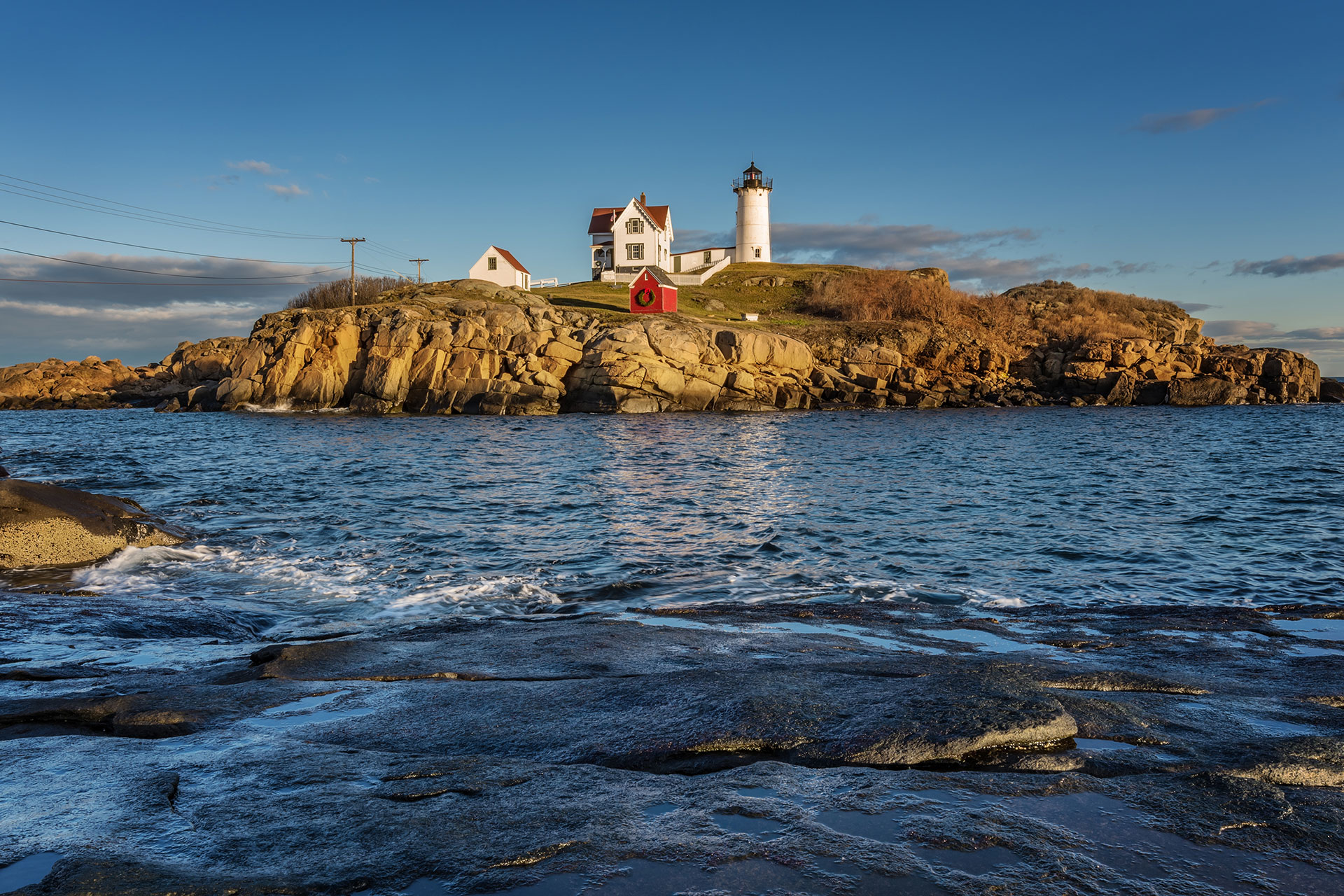 Nubble Lighthouse in York, Maine Festival