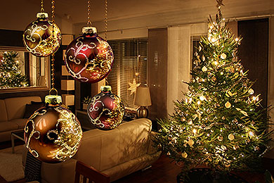 particularly during the holidays when kids are prone to homesickness the idea of adding christmas lights and a cheerfully adorned holiday tree - Christmas Tree Decorating Service