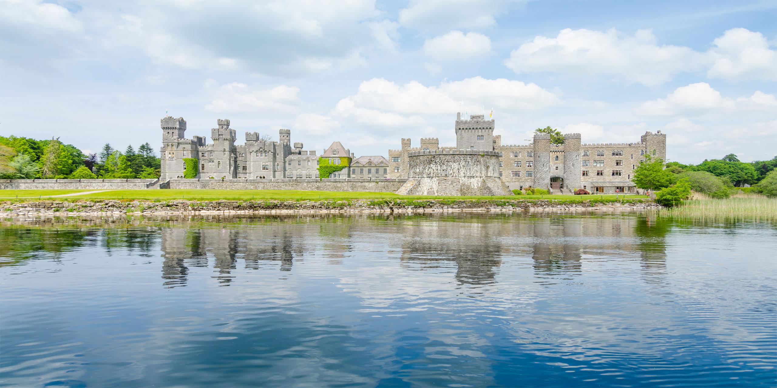 Ashford Castle; Courtesy of Elzbieta Sekowska/Shutterstock.com