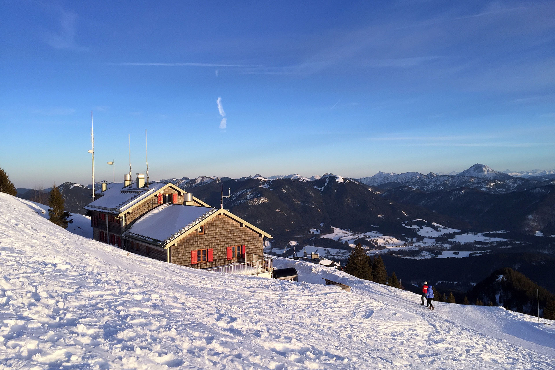 Ski House Rental in Winter