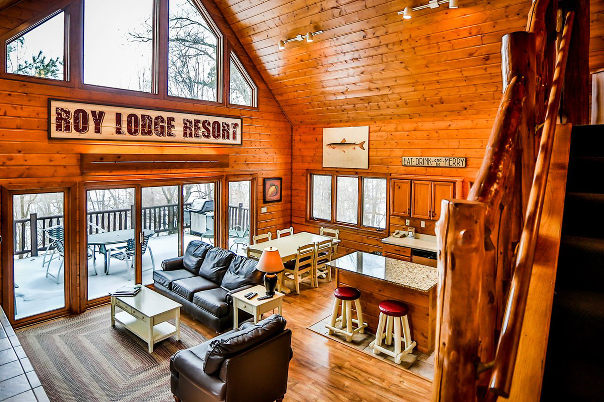 interior view of Grand View Lodge; Courtesy of Grand View Lodge