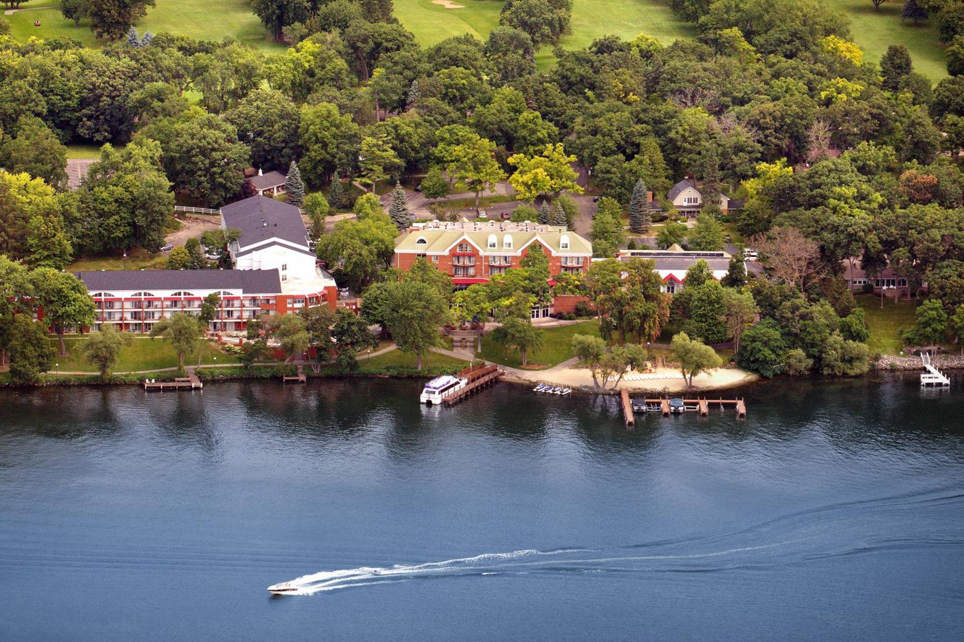 Heidel House Aerial; Courtesy of Heidel House