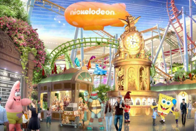 Nickelodeon Universe in Rutherford, NJ
