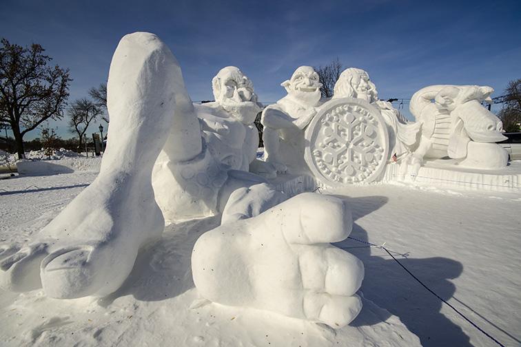 St. Paul Winter Carnival -St. Paul, MN; Courtesy of Shutterstock