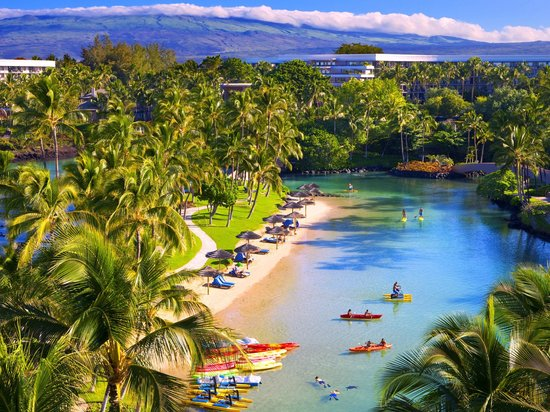 MAUNA LANI BAY HOTEL /& BUNGALOW ROOM SANDAL SLIPER BIG ISLAND HAWAII