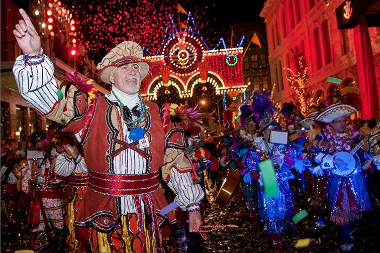 Galveston Mardi Gras; Courtesy Galveston CVB
