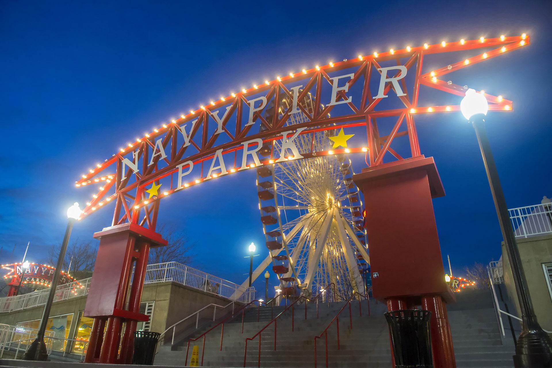 Chicago's Navy Pier; Courtesy of Kobby Dagan/Shutterstock.com