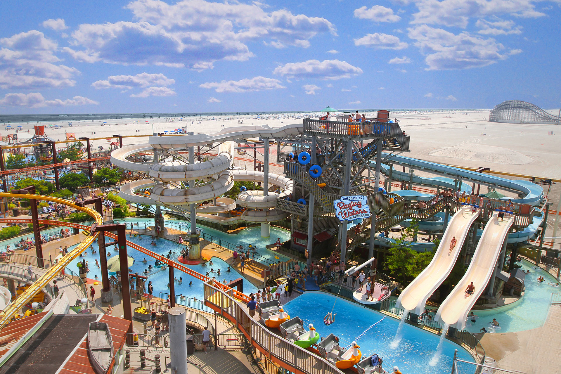 Morey's Piers in Wildwood, New Jersey; Courtesy of Morey's Piers