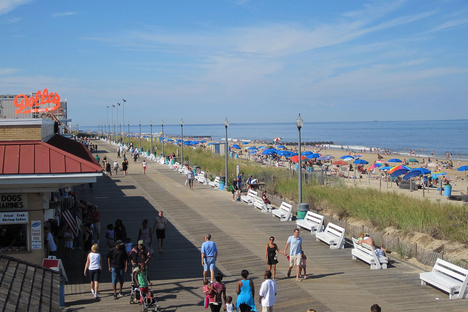 Rehoboth Beach Boardwalk; Courtesy of VisitDelaware.com