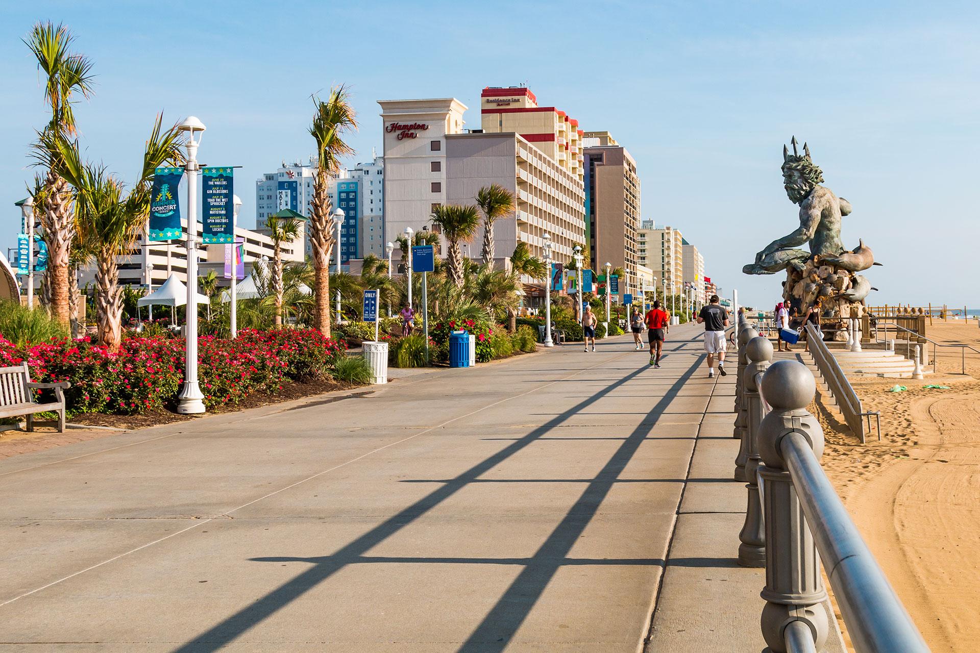 Virginia Beach Boardwalk; Courtesy of Sherry V Smith/Shutterstock.com