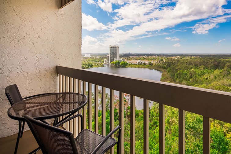 Balcony View at BEST WESTERN Lake Buena Vista Resort