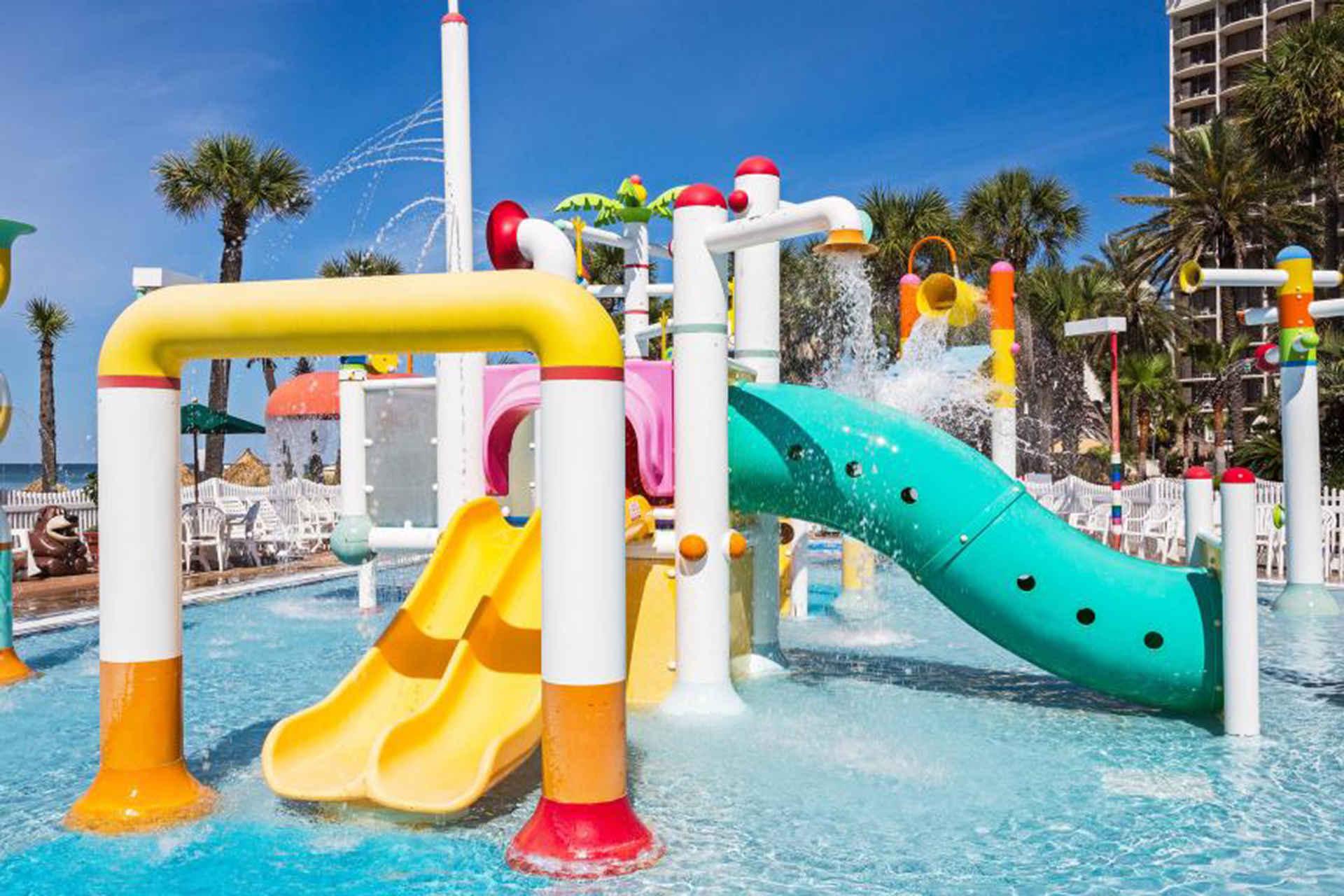 Holiday. Inn Resort Panama City Beach outside water park kids' club