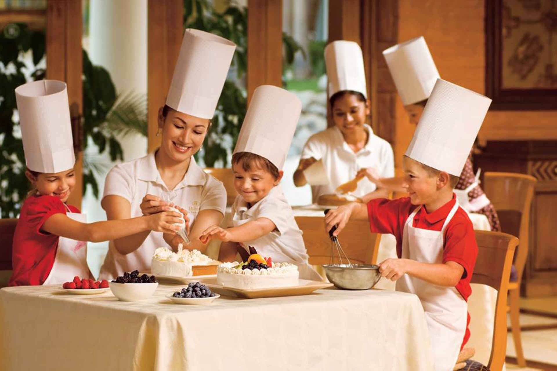 Hilton Los Cabos Beach and Golf Resort, kids cooking class