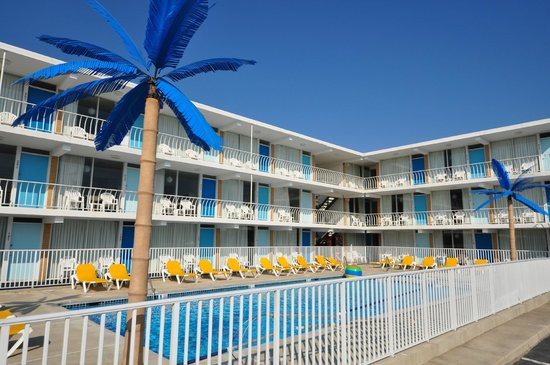 Blue Palms Resort Boardwalk Bungalows Wildwood Nj 2018 Review Ratings Family Vacation Critic
