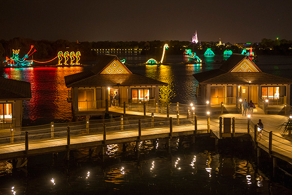 The Electrical Water Pageant at Disney's Polynesian Resort