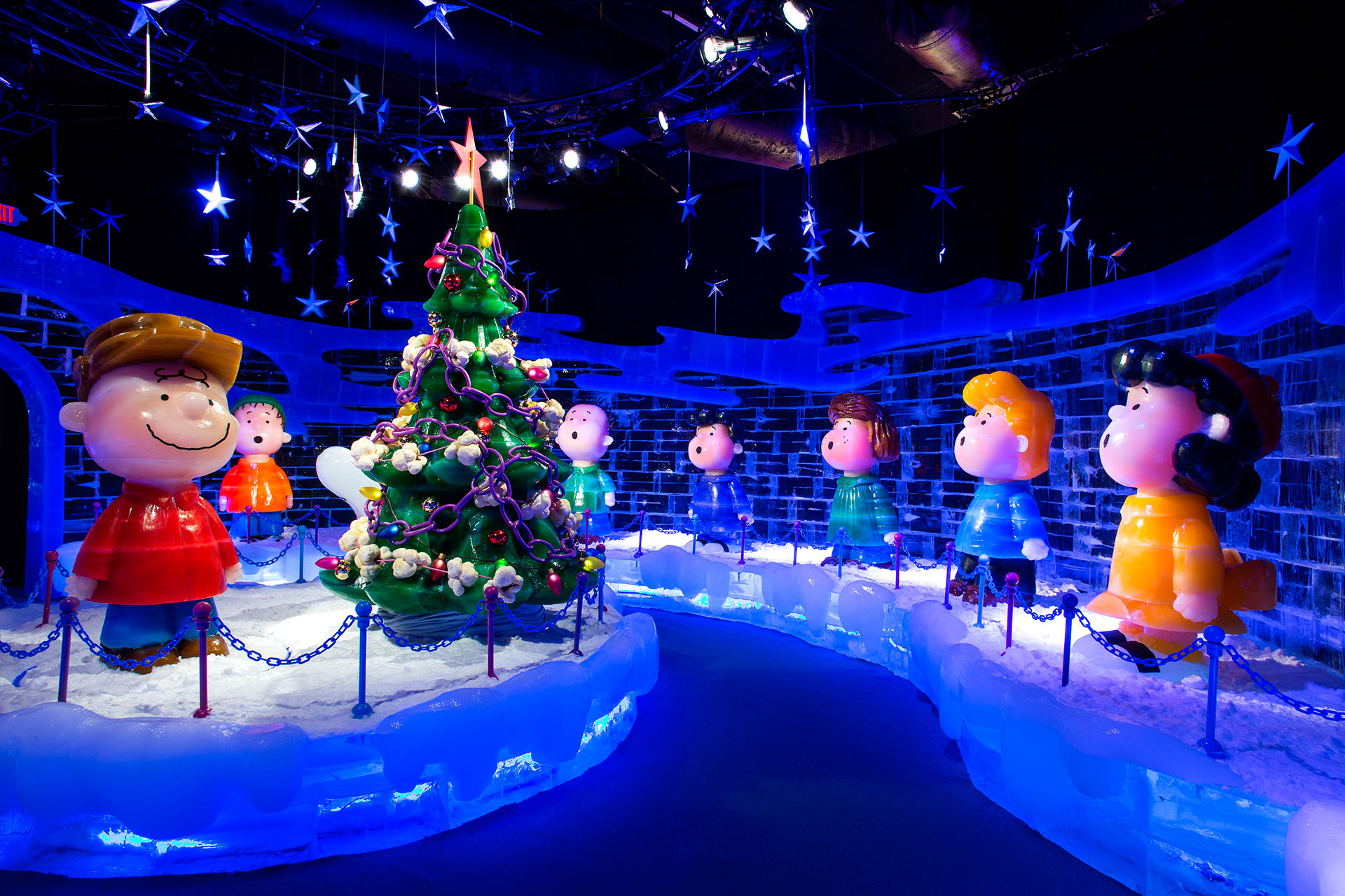 A Charlie Brown Christmas at the Gaylord National Resort; Courtesy of Gaylord National Resort