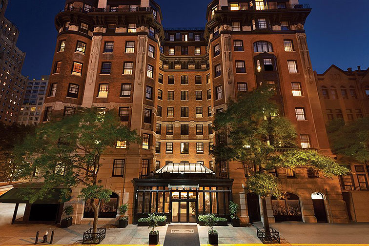 Hotel Belleclaire in New York City