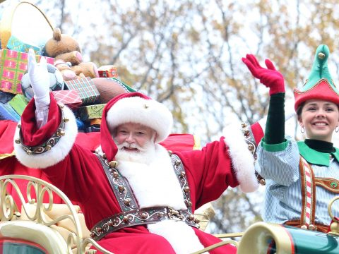 Santa Claus at the Macy's Thanksgiving Day Parade; Courtesy of JStone/Shutterstock.com