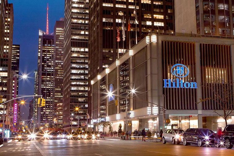New York Hilton, Midtown
