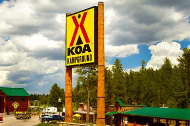 KOA Campground.