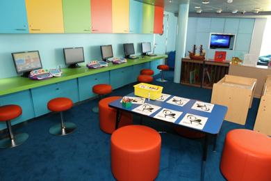 Playroom On Royal Caribbean International Ship