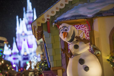 A glimpse into the new 'Frozen' attraction at Disney's Hollywood Studios.
