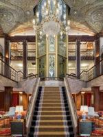 Lobby at Graduate Providence; Courtesy of Graduate Providence
