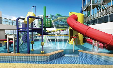 Kids' Aqua Park on Norwegian Escape