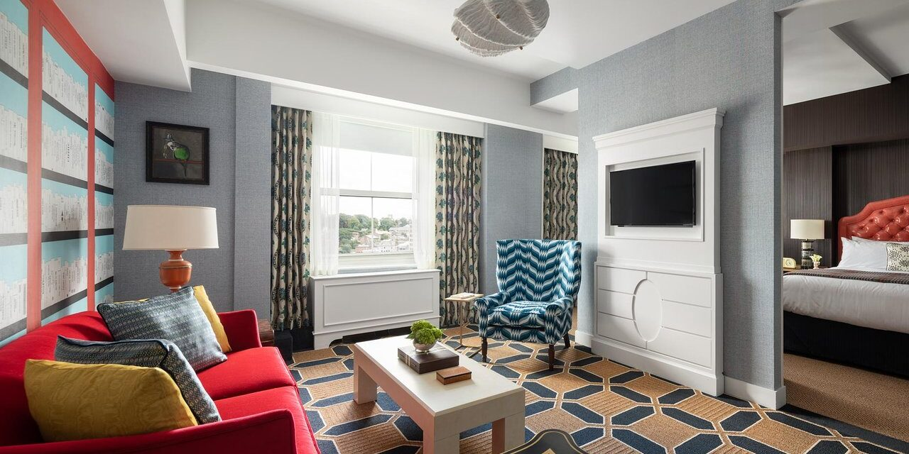 Suite at Graduate Providence; Courtesy of Graduate Providence