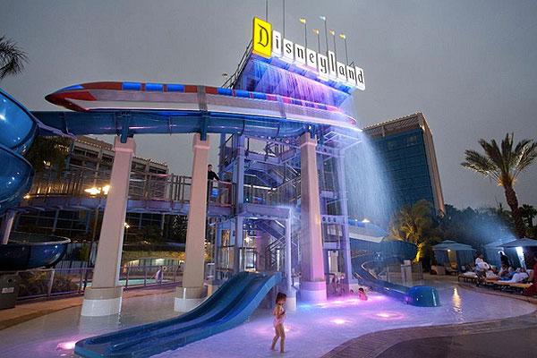 Disneyland Hotel In California