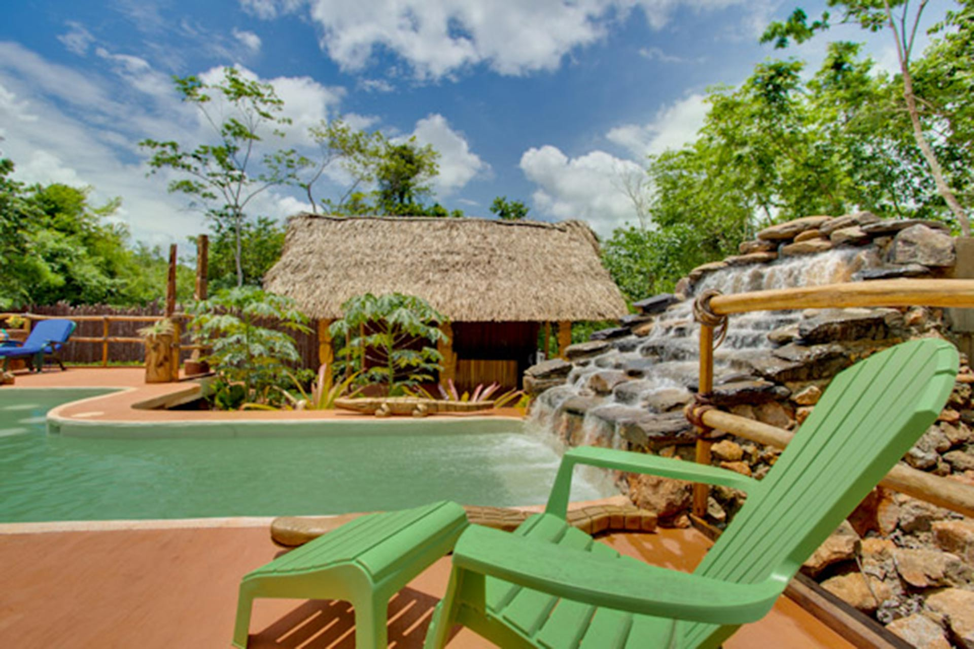 Mariposa Jungle Lodge in Belize.