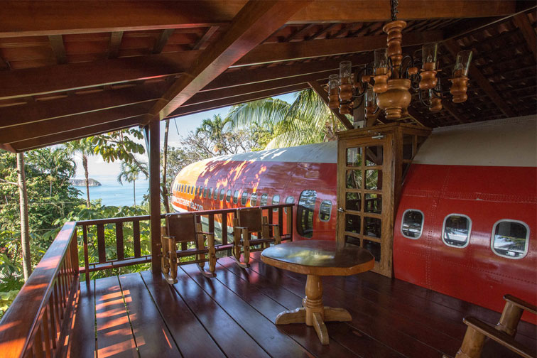 Costa Verde Hotel Airplane Suite; Courtesy of TripAdvisor Expert Photo