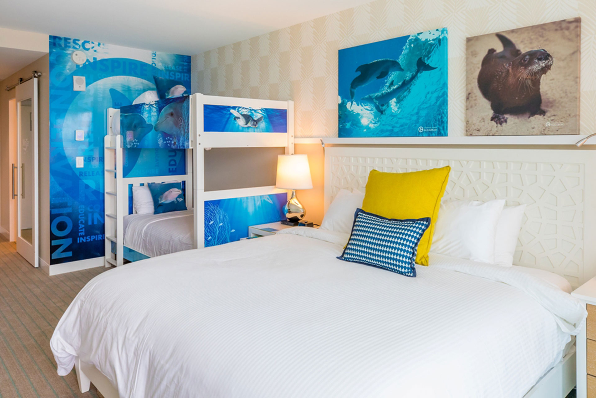 Winter the Dolphin Room at Wyndham Grand Clearwater Beach