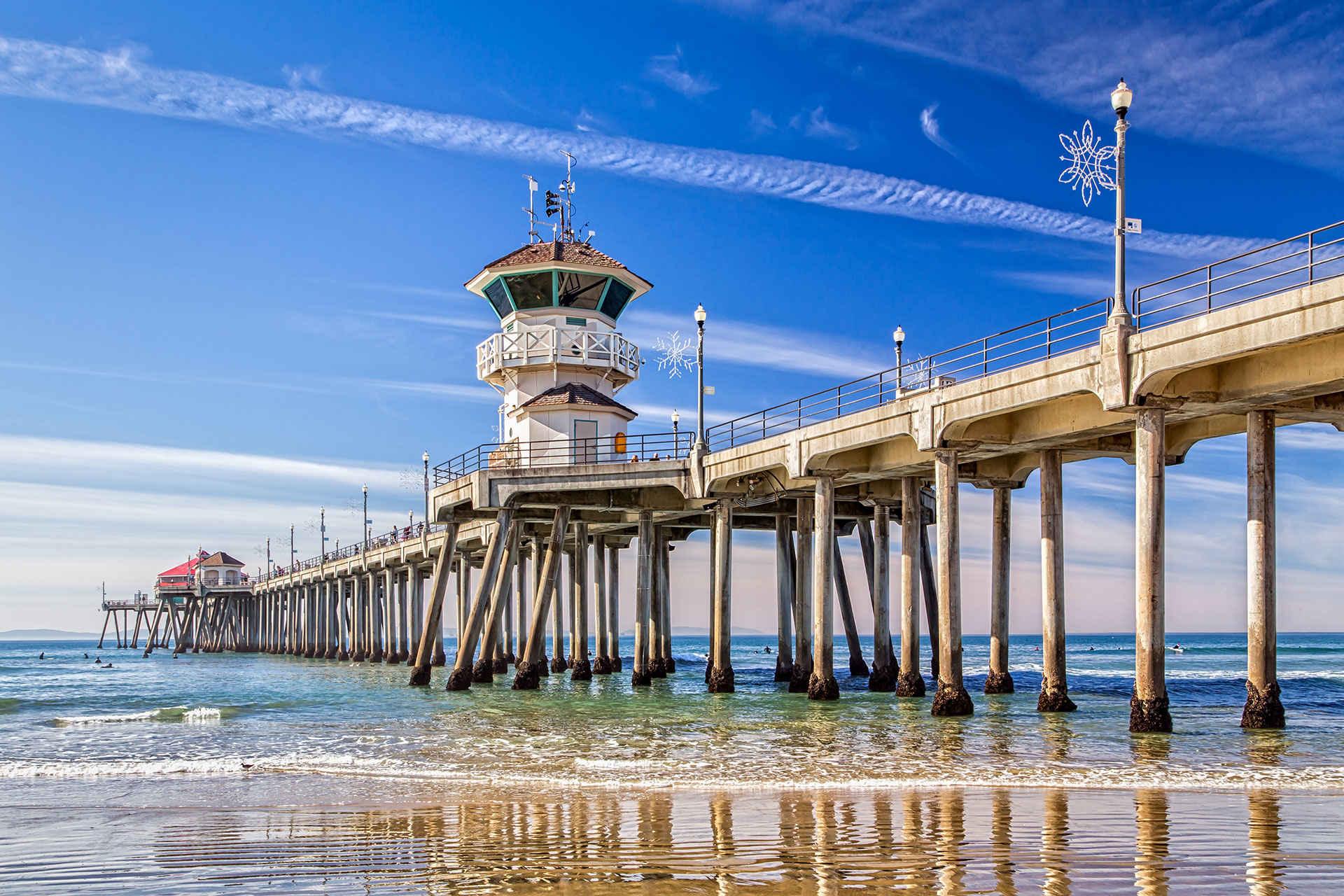huntington state beach pier; Courtesy of Ken Wolter/Shutterstock