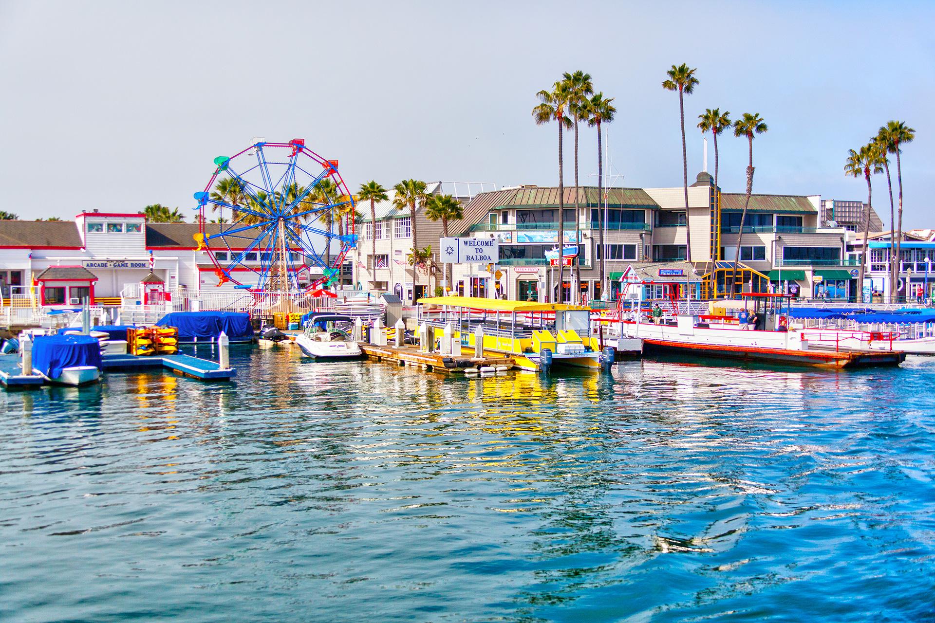 Balboa Beach; Courtesy of Ronnie Chua/Shutterstock