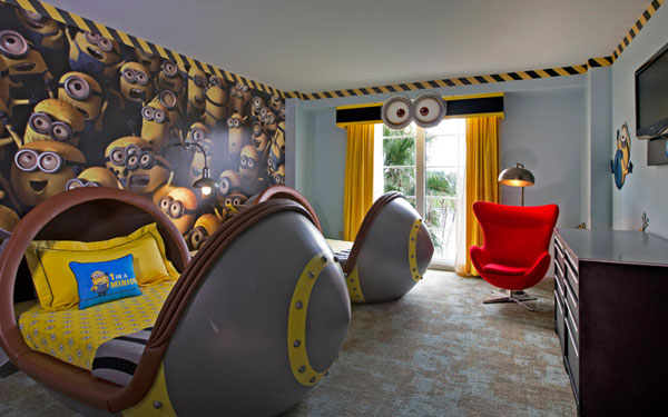Deable Me Kids Suites Loews Portofino Bay Hotel Orlando