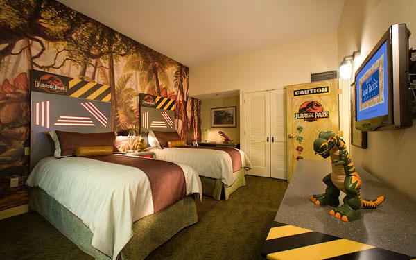 Jurassic Park Kids Suite at the Loews Royal Pacific Resort.