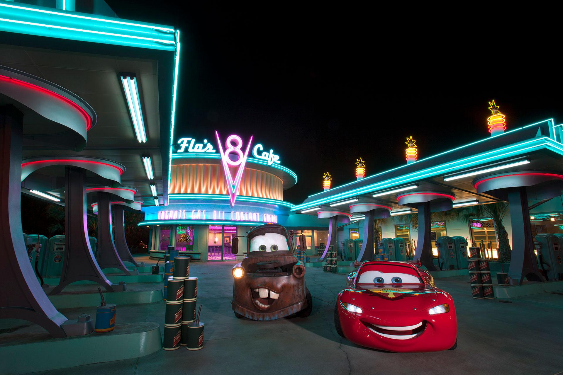 Cars Land at Disneyland; Courtesy of Disney