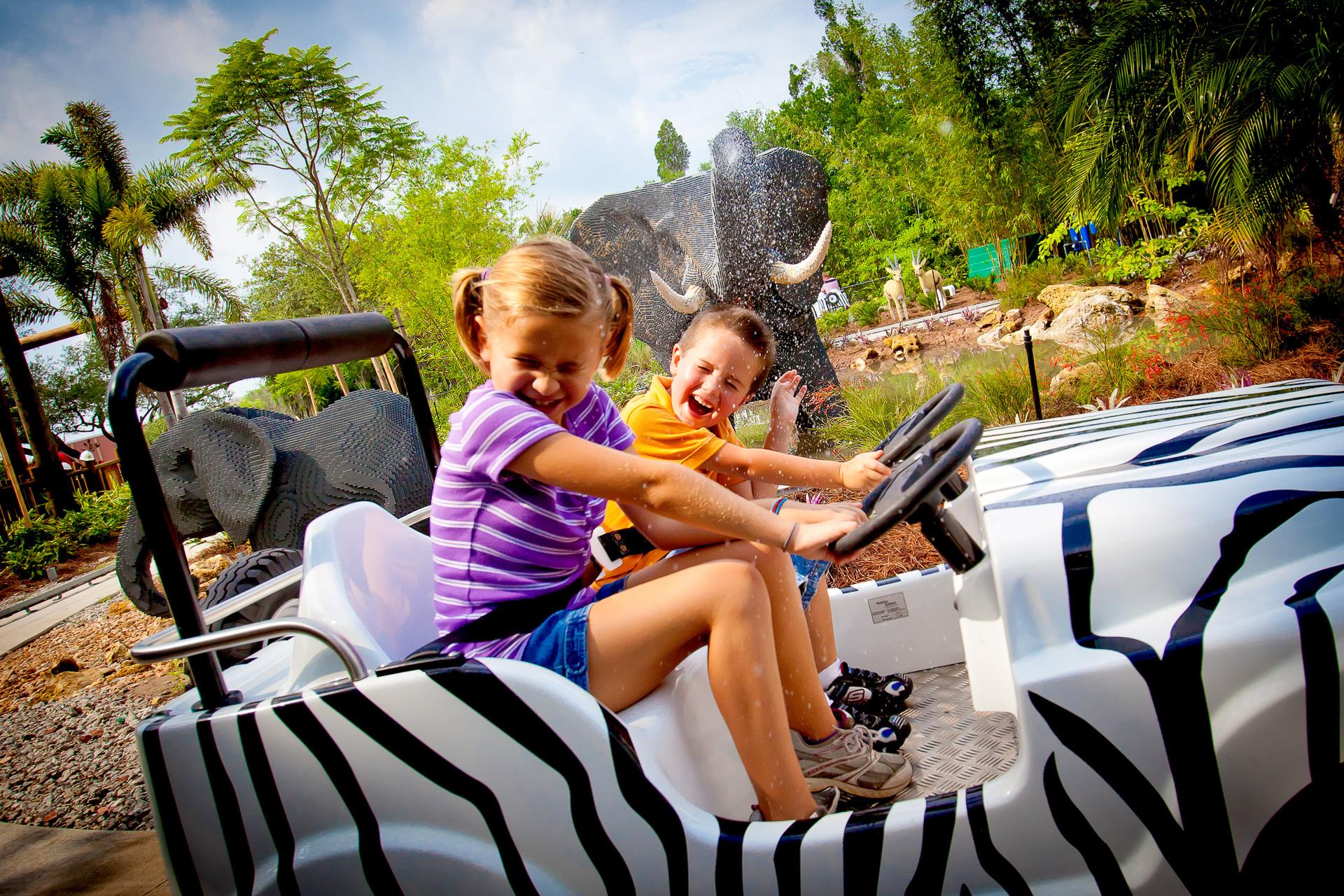 Kids at LEGOLAND Florida Resort; Courtesy of LEGOLAND Florida Resort