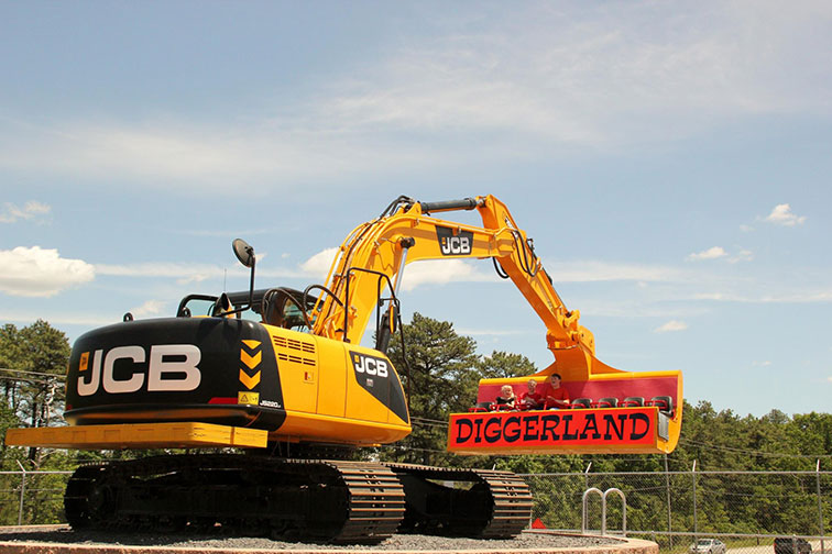 Diggerland in West Berlin, New Jersey