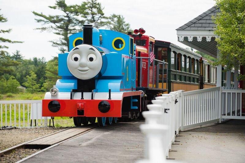 Thomas the Tank Engine at Edaville USA