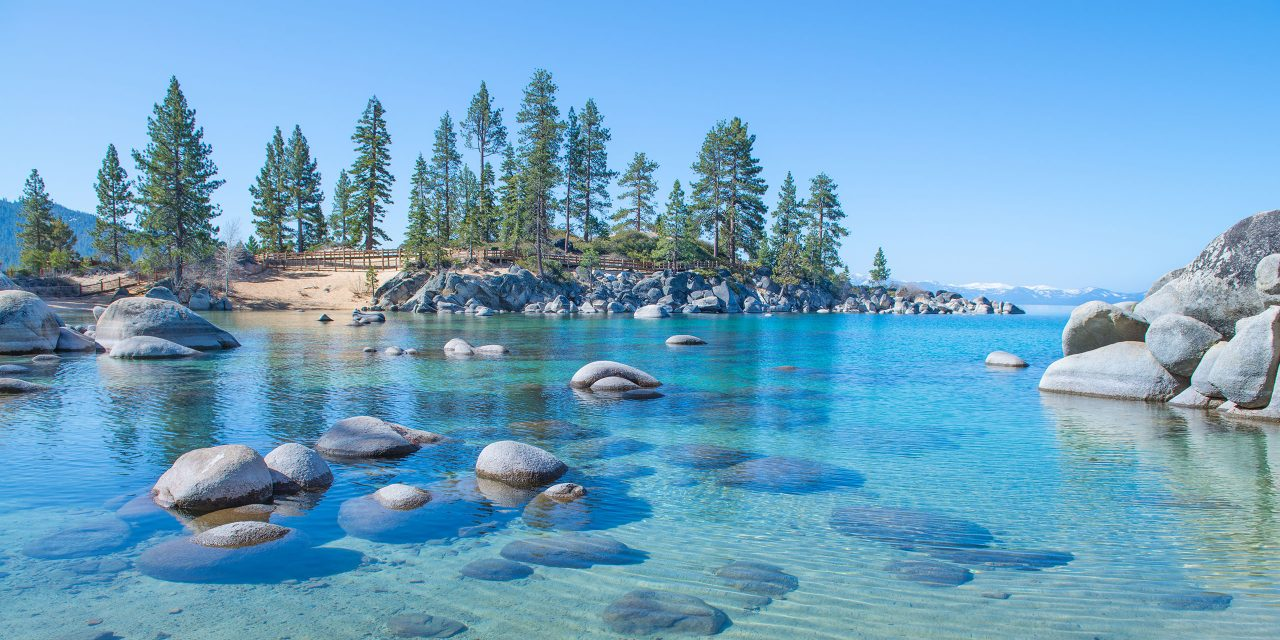 Lake Tahoe, California; Courtesy of CHRISTIAN DE ARAUJO/Shutterstock.com