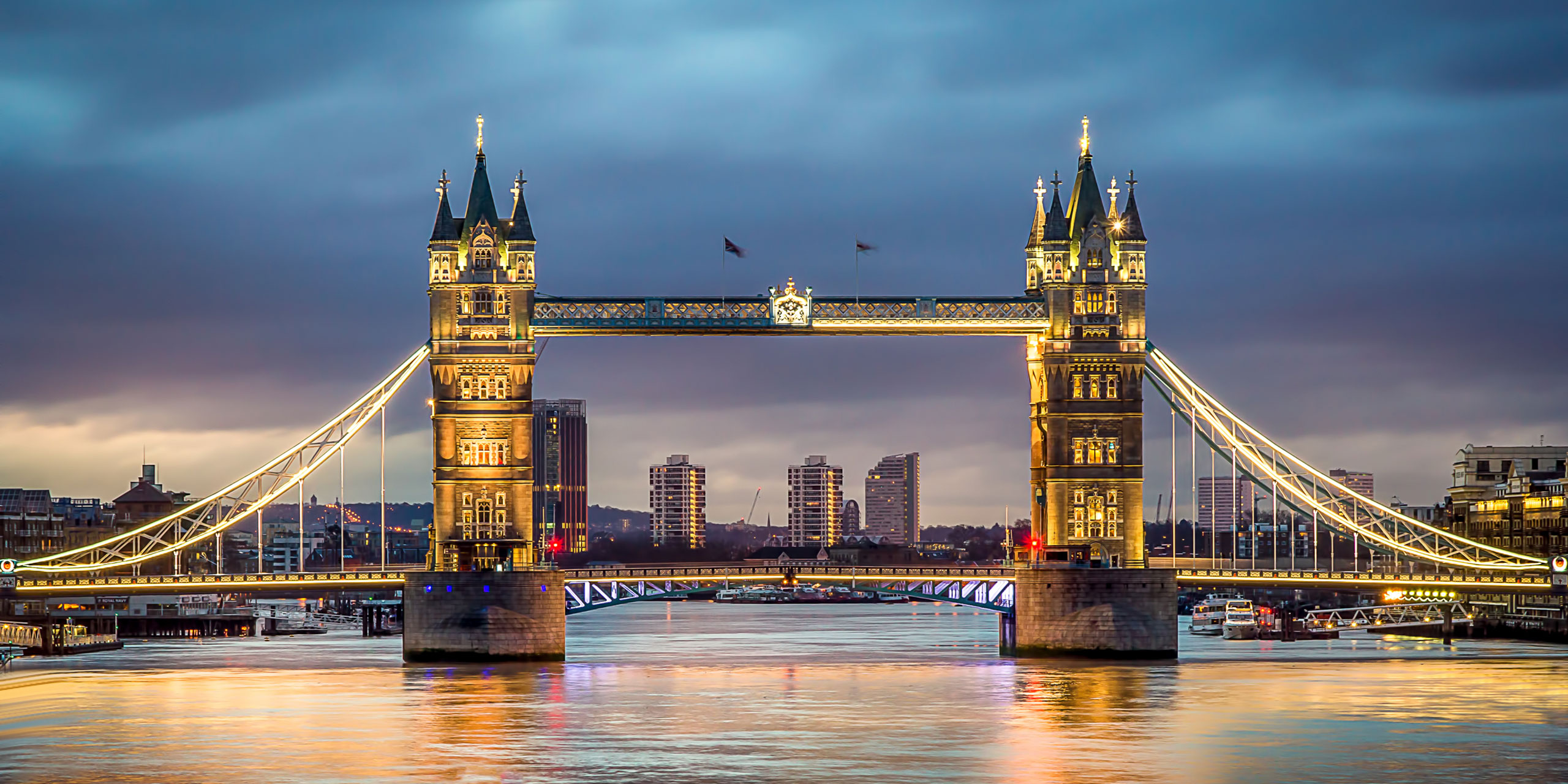 London Tower Bridge; Courtesy of olavs/Shutterstock.com