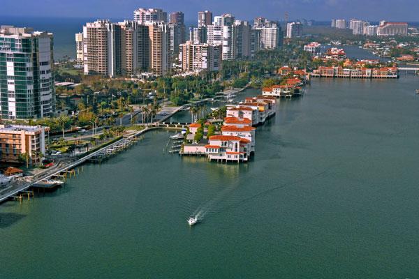 Naples Island, Florida.