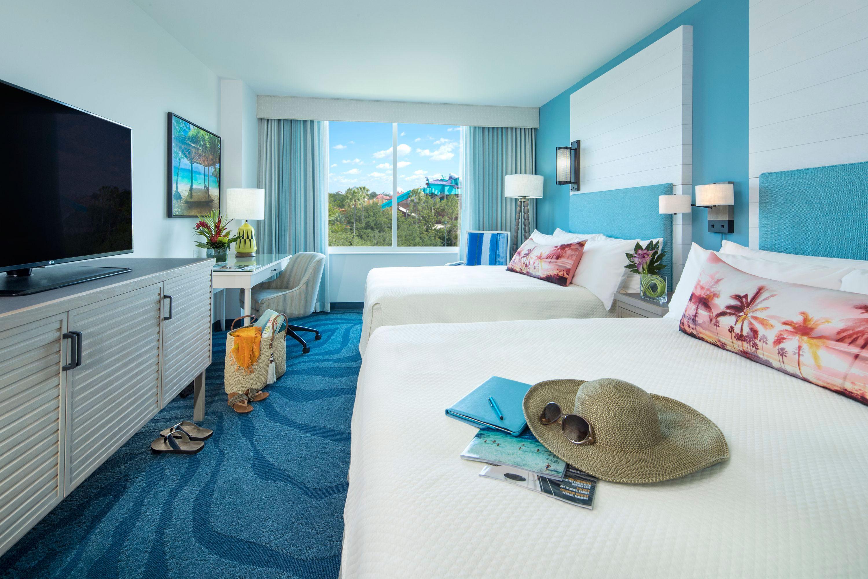 Guestrooms at Loews Sapphire Falls Resort