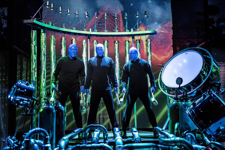 Blue Man Group Las Vegas - Luxor Hotel & Casino; Courtesy Luxor Hotel