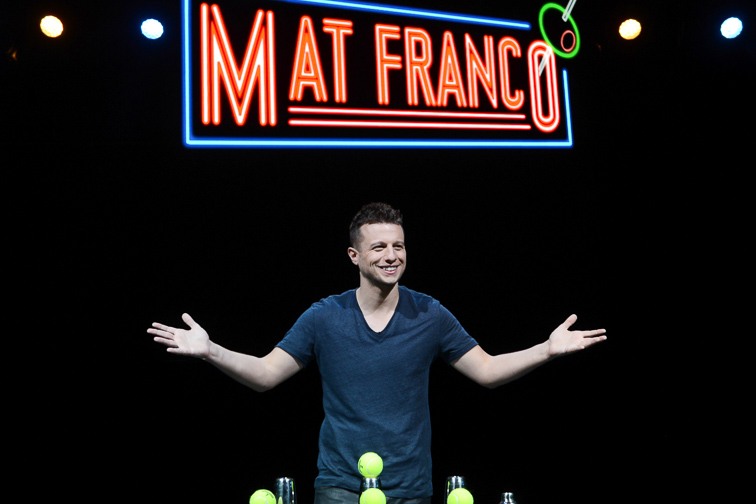 Mat Franco - Magic Reinvented - The LINQ Hotel + Experience; Courtesy The LINQ Hotel