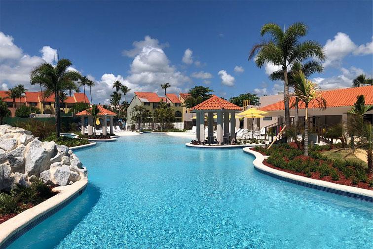 Pool at Wyndham Candelero Beach Resort; Courtesy of Wyndham Candelero Beach Resort