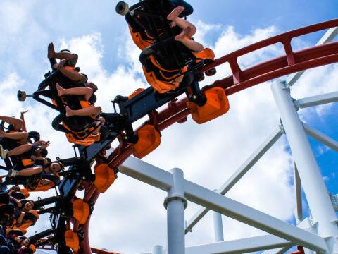 Roller Coaster; Courtesy of liewluck/Shutterstock.com