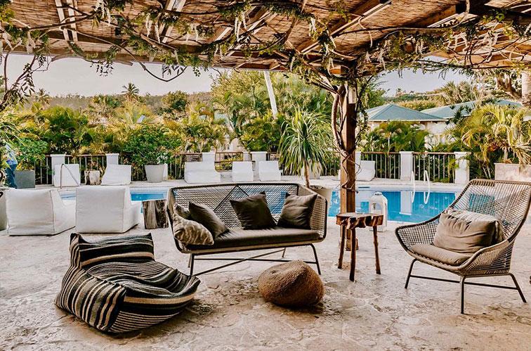 Villa Montana Beach Resort in Puerto Rico